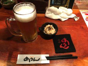 那覇久米「あうん」ビール
