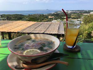 本部町のカフェ 亜熱帯茶屋 島野菜のフォー