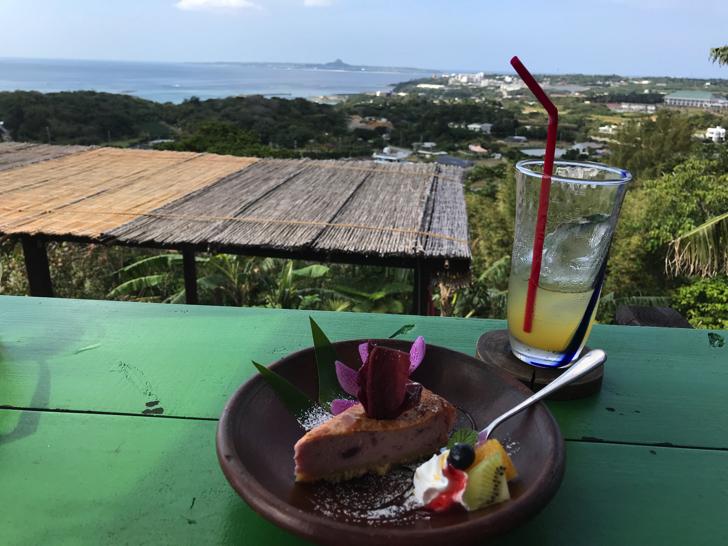 本部町のカフェ 亜熱帯茶屋 デザート