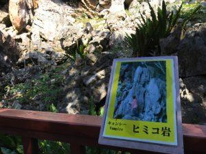 沖縄最大のパワースポット「大石林山」ヒミコ岩