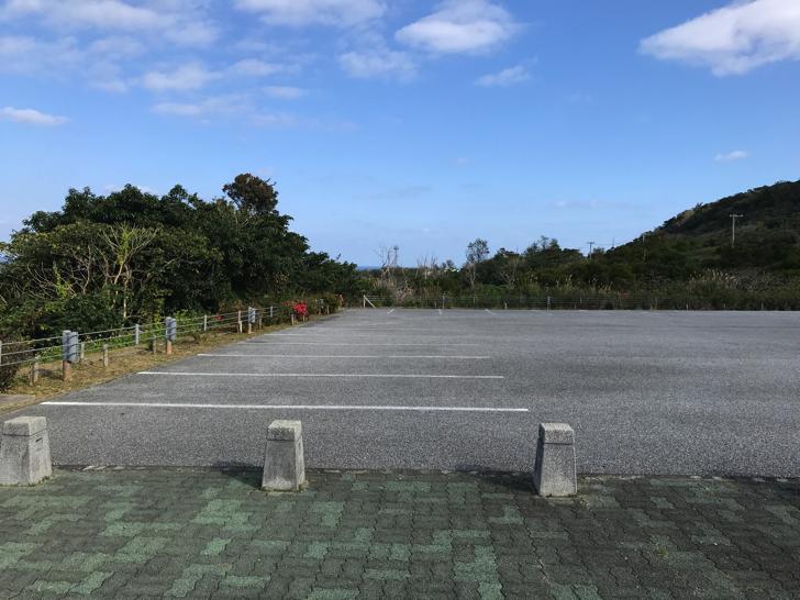 茅打ちバンタの駐車場