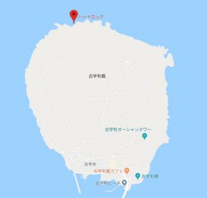 古宇利島の場所