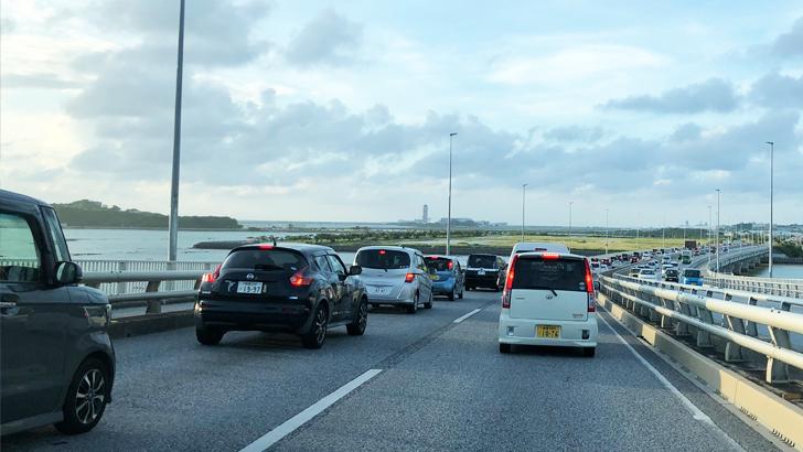 沖縄の渋滞