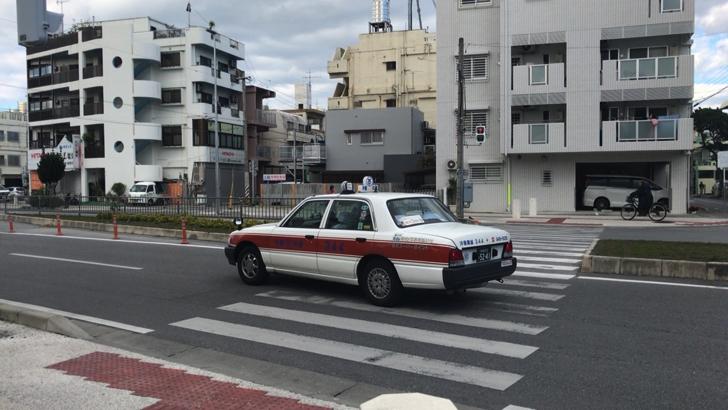 沖縄のタクシー事情