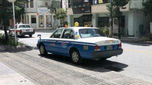 沖縄のタクシー
